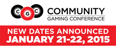 Community Gaming Conference Jan 21 2015
